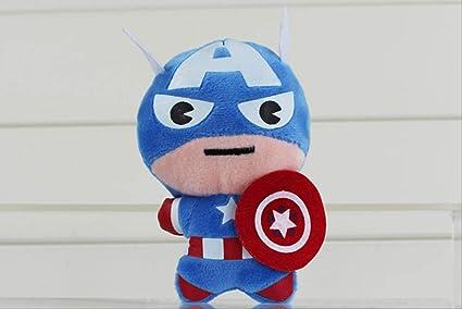 hhjxptst Juguete De Felpa, Spiderman, Thor Capitán, Iron Man ...