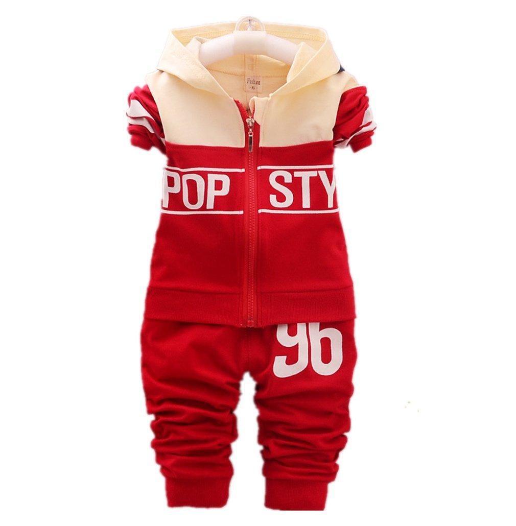 Children Clothes Baby Boys/Girls Hoodie Coats +Pants Sets Sports Suit Kids Tracksuit