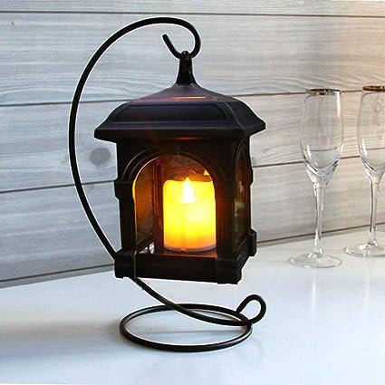 OSALADI Lanterne Solaire, Lanterne décorative Vintage, Lampe ...