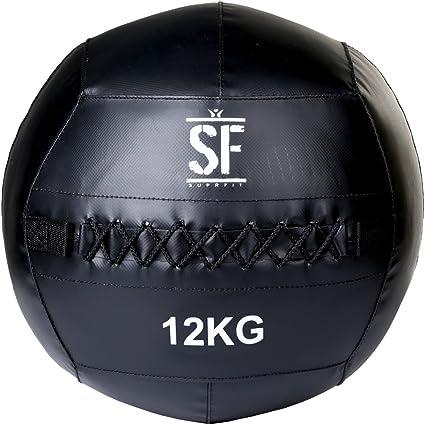 Suprfit Wall Ball, balón medicinal pesado, pelota para ...