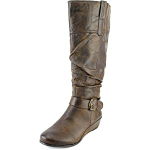 Yuu Simona Women Brown Knee High Boot