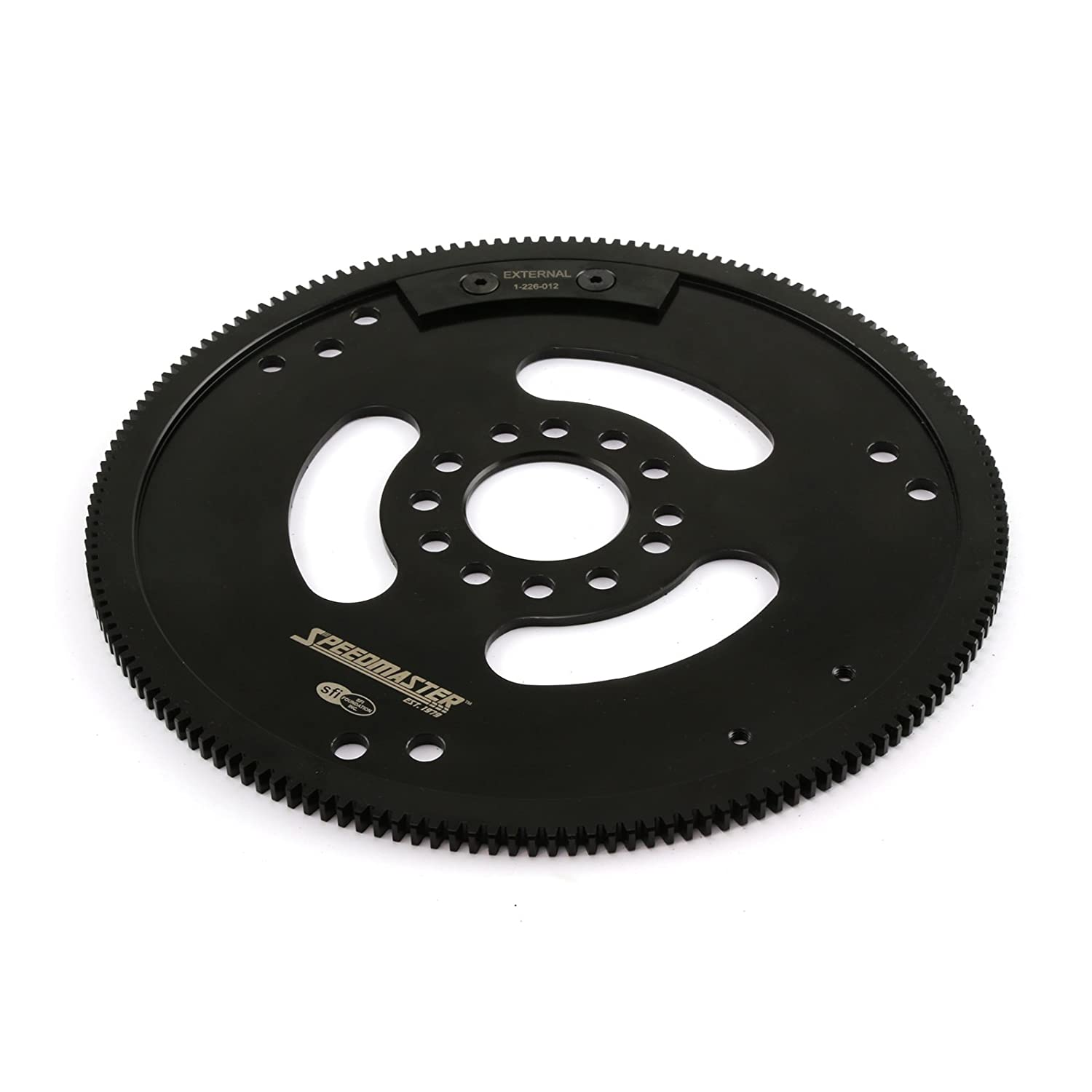 Speedmaster 1-226-012 Oldsmobile 400 425 455 2PC RMS 166 Tooth DNAⓅ Billet Black Oxide SFI Flexplate