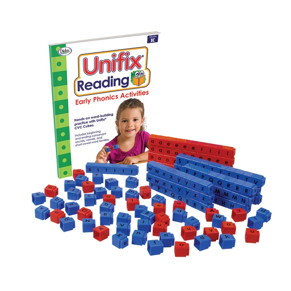 Didax Educational Resources Unifix Letter Cubes - Small Group by Didax