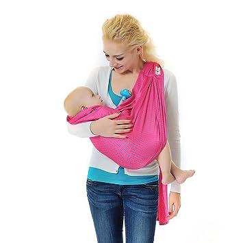 nouvelle qualité style limité le plus en vogue Xcellent Global Echarpe de Portage pour Bébé avec Anneaux ...