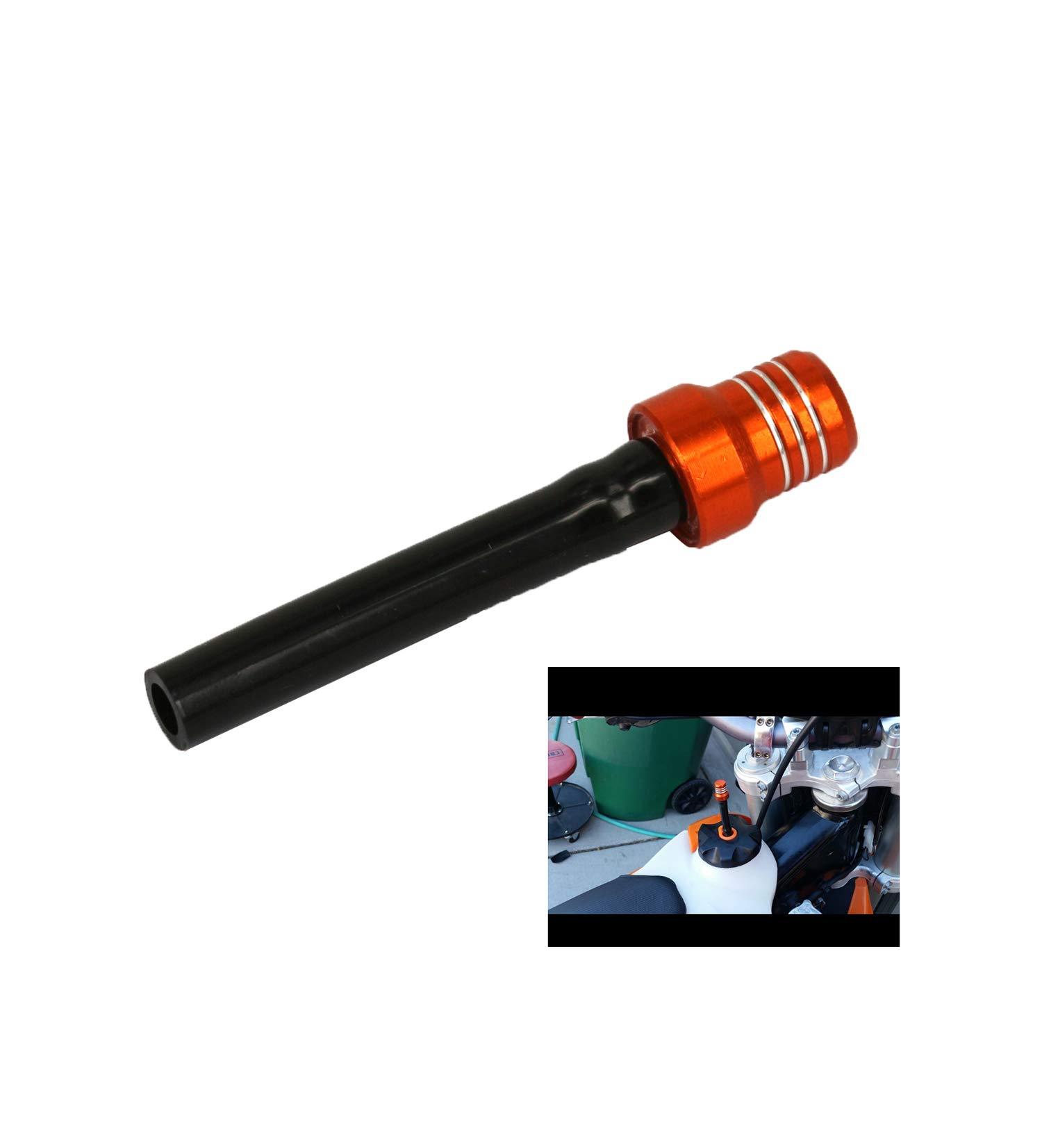 Billet Gas Fuel Cap Oil Filler Cap Air Vent Hose Tube Breather Hose For Suzuki RM125 RM250 RMZ250 RM