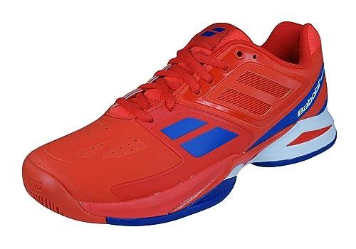 Babolat - Zapatillas de Tenis de Piel Lisa Niños: Amazon.es: Zapatos y complementos