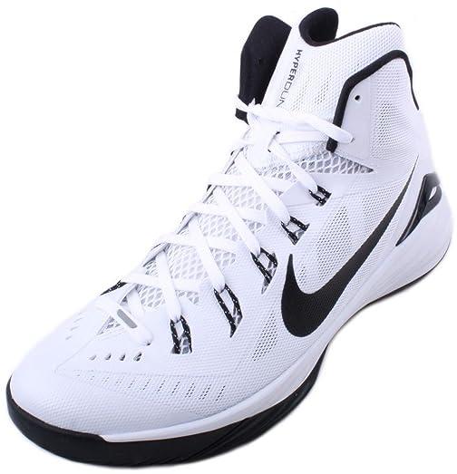 9bb7e084ab7987 ... Nike Hyperdunk 2014 TB Mens White Black Basketball Sneakers SIZE 7 ...