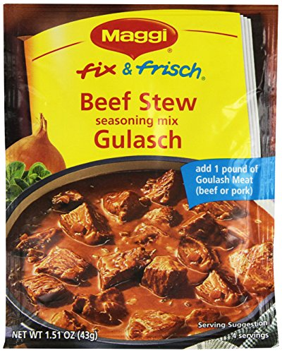 Maggi Goulash (Beef Stew) Mix, 1.51-Ounce (Pack of 10) by Maggi