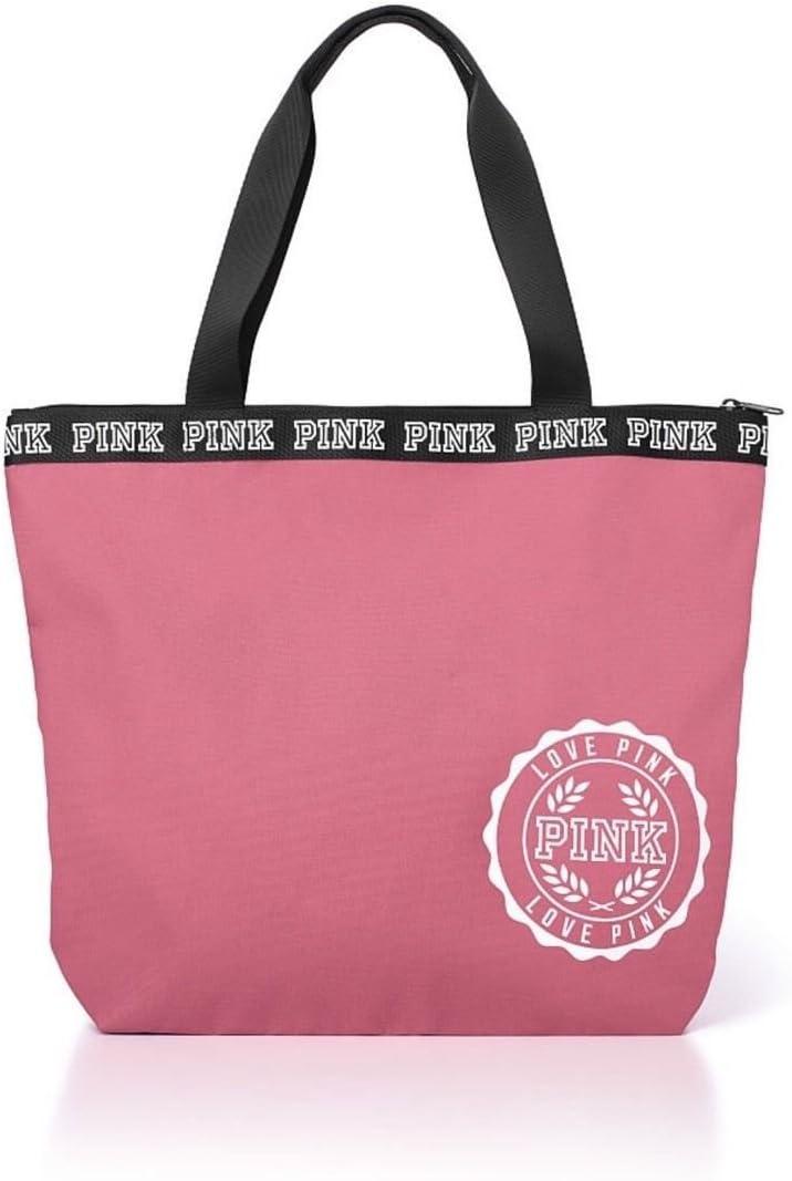 Victoria's Secret ピンク Zip-Top Tote Soft Begonia