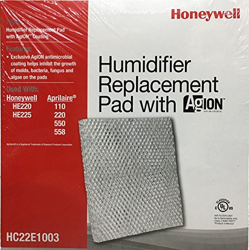 Honeywell HC22E1003/U Pad with Ag Ion Coating for He100, He150, He220 and He225 Humidifiers