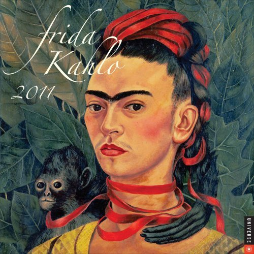 frida kahlo 2011 wall calendar