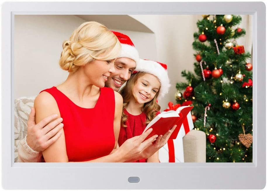 WUSHIYU Digital Frame 10 Inch Digital Picture Frame 1280800 Pixels High Resolution Smart Electronic Frame Auto On//Off Timer Remote Control Included Electronic Digital Photo Frame