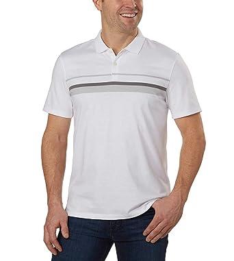 Calvin Klein Lifestyle - Polo de algodón líquido Suave para Hombre ...