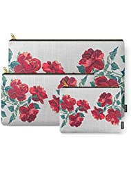 Society6 Red Roses Carry-All Pouch