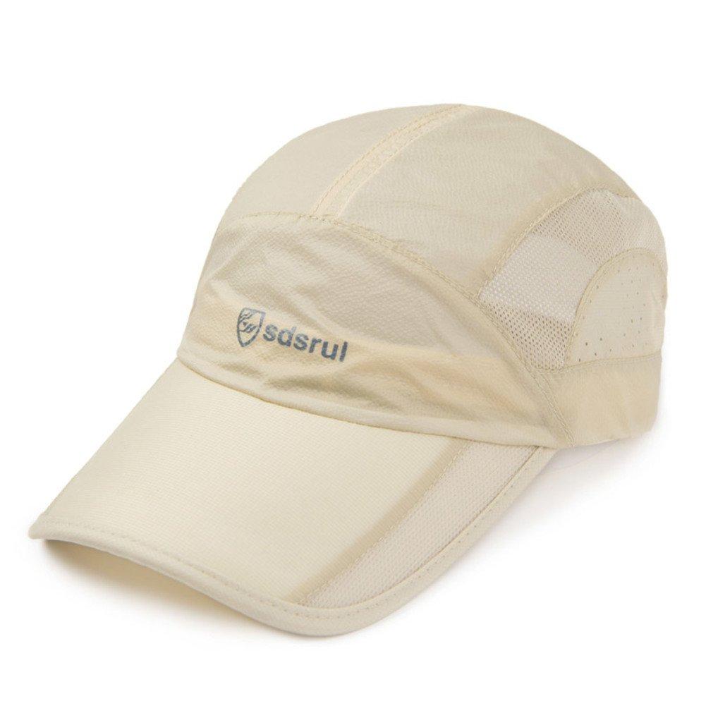 HUIYUE Quick-Drying Has,Summer Sunscreen Outdoor Sports Cap Baseball Cap Breathable-K M