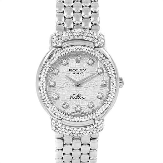 Rolex Cellini 6673 - Reloj de Cuarzo para Mujer: Rolex: Amazon.es: Relojes