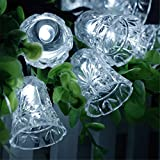 Sammid Outdoor Led Lights with 20 LEDs,Waterproof Christmas Decoration Yard path Garden Gate Road Led Light- White Light
