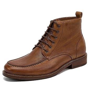 MERRYHE Casual Vintage Derby Martin Botas para Hombres De Encaje UK Botines Chukka Botas De Trabajo Tekking Senderismo Calzado Desert Boot: Amazon.es: ...