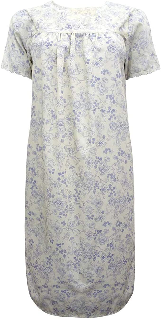 Nightie Tops Jersey /& Lace Short  Chemises Sizes 8-16  EX STORE NEW NO TAGS