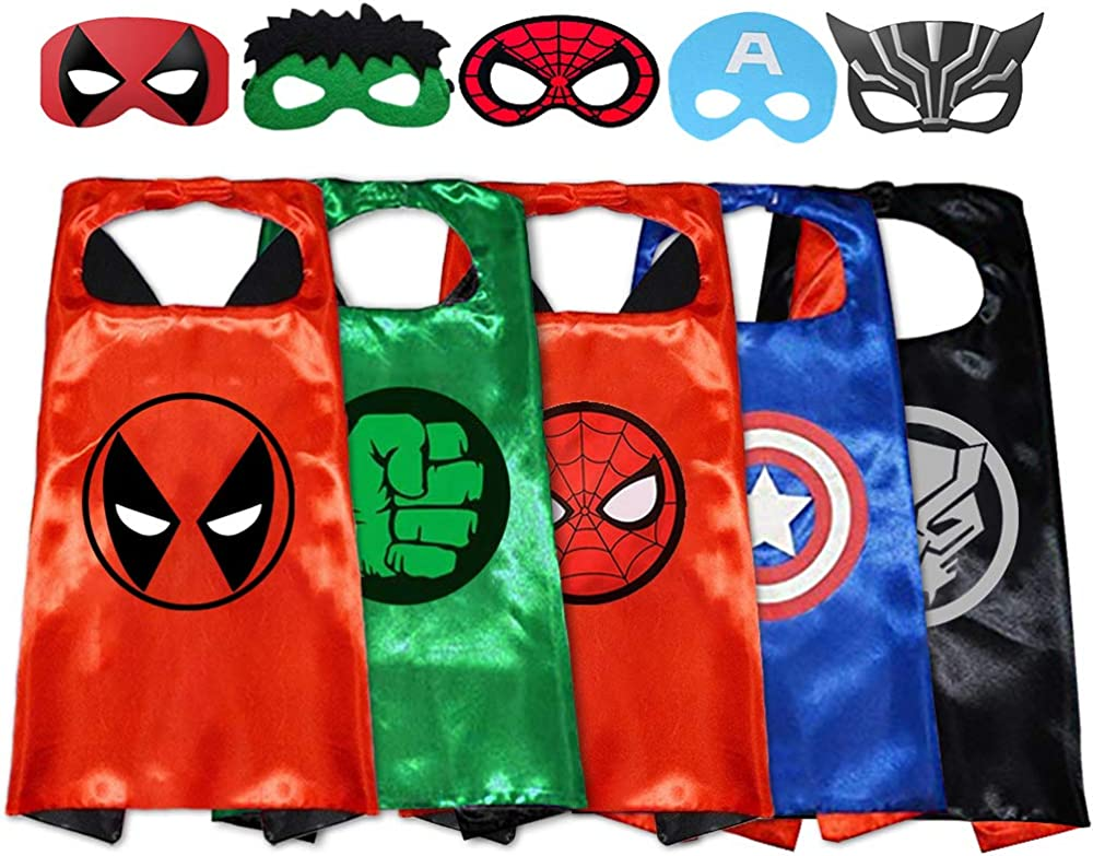 Superhero Capes with Masks