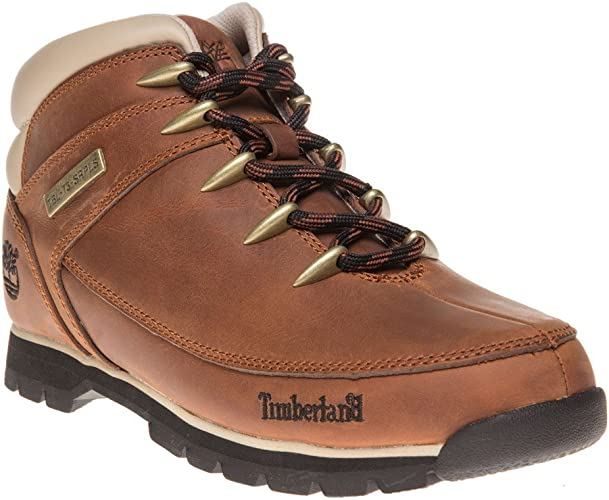Escuela de posgrado Actual dinosaurio  Timberland Men's Euro Sprint-Hiker Boots: Amazon.co.uk: Shoes & Bags