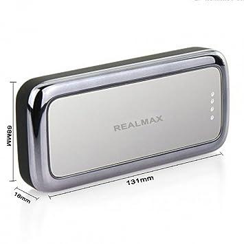 REALMAX® 10000mAh Cargador Portátil de Batería Externo Dual ...