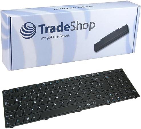Green Cell/® Notebook Tastatur f/ür Medion Akoya E7420 MD99710 DE QWERTZ NEU