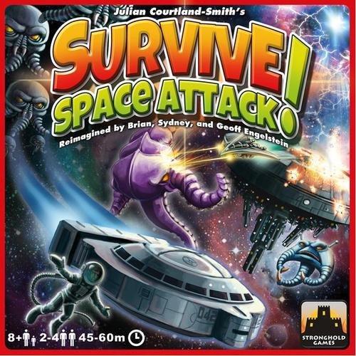 - Survive Space Attack Board Game