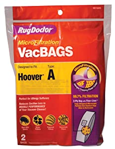 Rug Doctor Hoover A Vacuum Bag