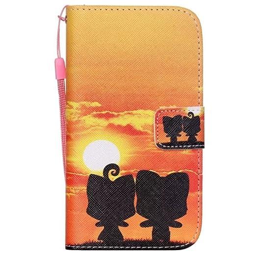 110 opinioni per HUANGTAOLI Custodia in pelle Protettiva Portafoglio Flip Case Cover per Samsung