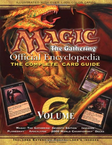 Magic: The Gathering -- Official Encyclopedia, Volume 6: The Complete Card Guide PDF