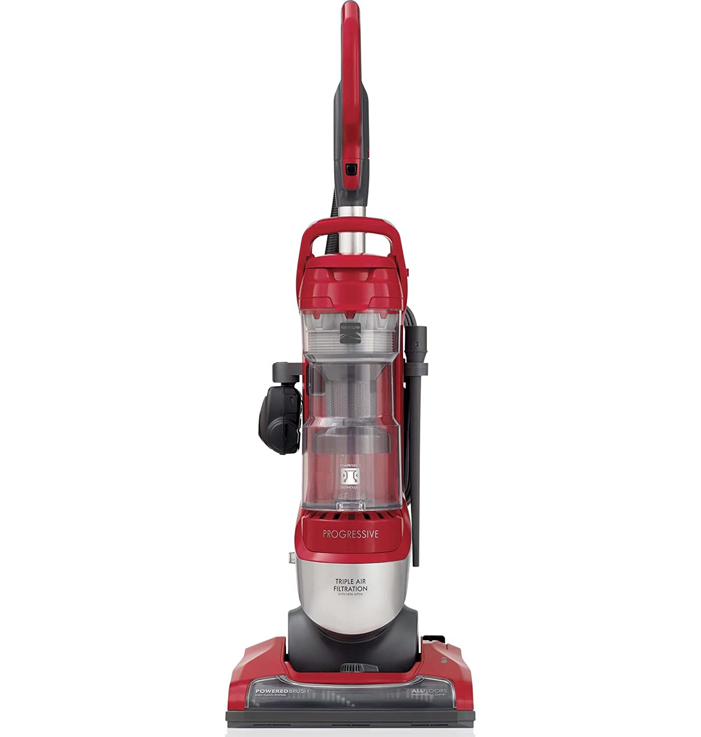 Amazon.com: Kenmore 10135 Pet Friendly Bagless Upright Vacuum in  Silver/Red: Home & Kitchen