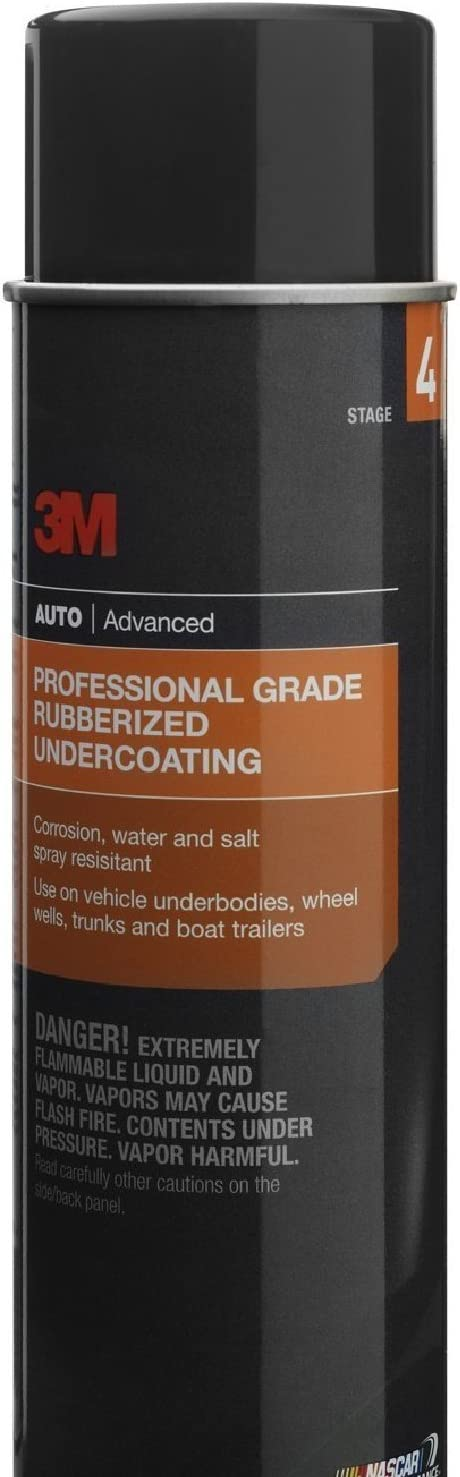 3M 3584 Professional Grade Rubberized Undercoating 12 16oz Cans