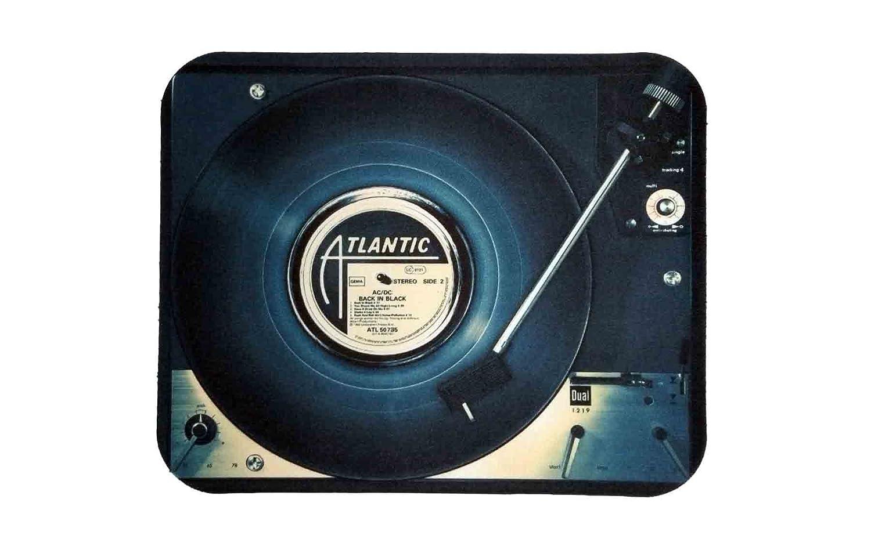 Alfombrilla ratón Tocadiscos DJ mouse pad: Amazon.es ...