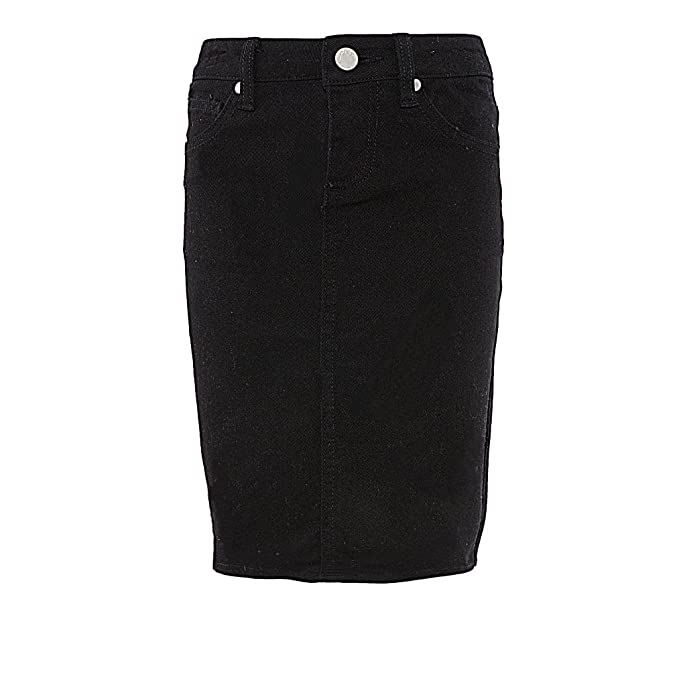 cd734b233d Amazon.com: Pinc Premium Big Girls' Basic Knee Length Denim Skirt: Clothing