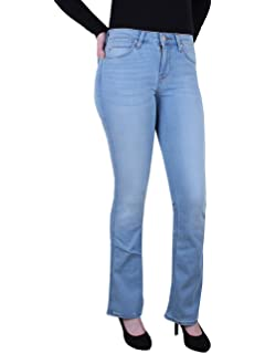 0e159fee Lee Damen Jeans Mom - Straight Relaxed Fit - Blau - Blue Authentic
