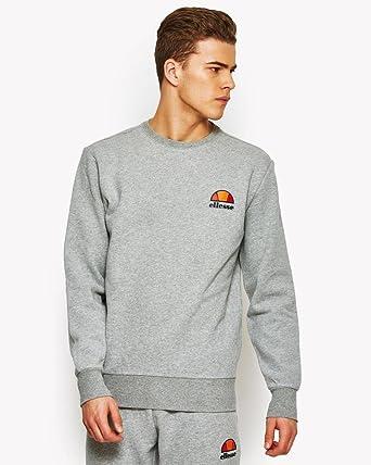 e6ea3aa9a2 ELLESSE Diveria Crew Neck Sweatshirt   Marl Grey