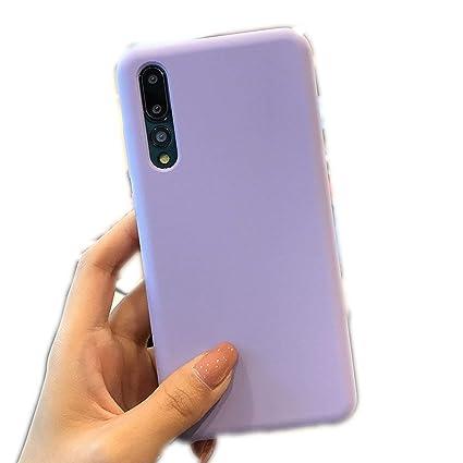 Amazon.com: Funda de silicona para Huawei Mate 20 10 P20 P30 ...