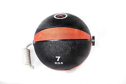 CoreX Balón Medicinal con cuerda 3, 4, 5, 6, 7, 8, 9 kgs.: Amazon ...