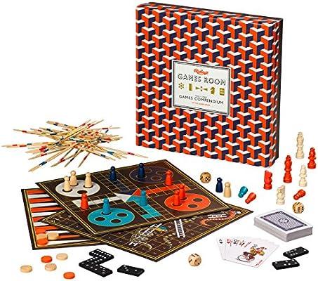 Ridleys Games Room | Compendio de Juegos | Diez Juegos Populares en uno: Amazon.es: Juguetes y juegos