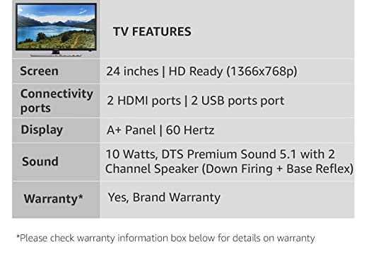 Samsung 59 Cm Hd Ready Led Tv 24k4100 Amazonin Electronics