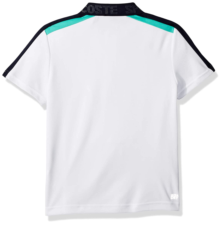 c8eddbef71c4d4 Amazon.com  Lacoste Boy Sport Short Sleeve Color Block Tennis Polo  Clothing