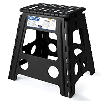 Tremendous Acko 16 Inches Super Strong Folding Step Stool For Adults Kitchen Stepping Stools Garden Step Stool Black Ocoug Best Dining Table And Chair Ideas Images Ocougorg