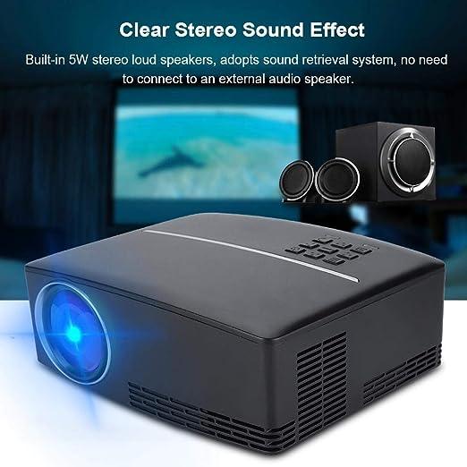 Mini proyector de LED Soporte portátil 4K x 2K Reproductor de ...