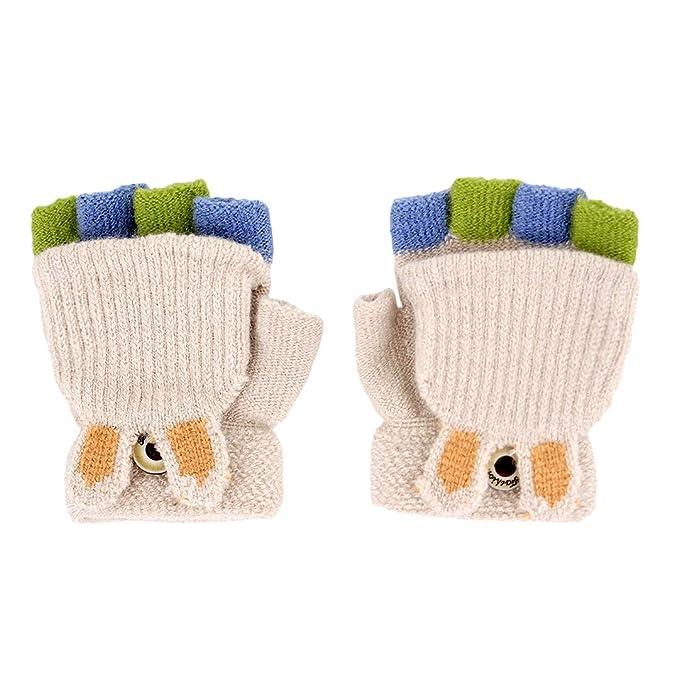 Amazon.com: Mocure - Guantes de conejo para bebé, diseño de ...