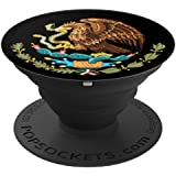 Coat Of Arms Mexico Pop Mount Socket Seal Emblem PopSockets Grip and Stand for Phones and Tablets