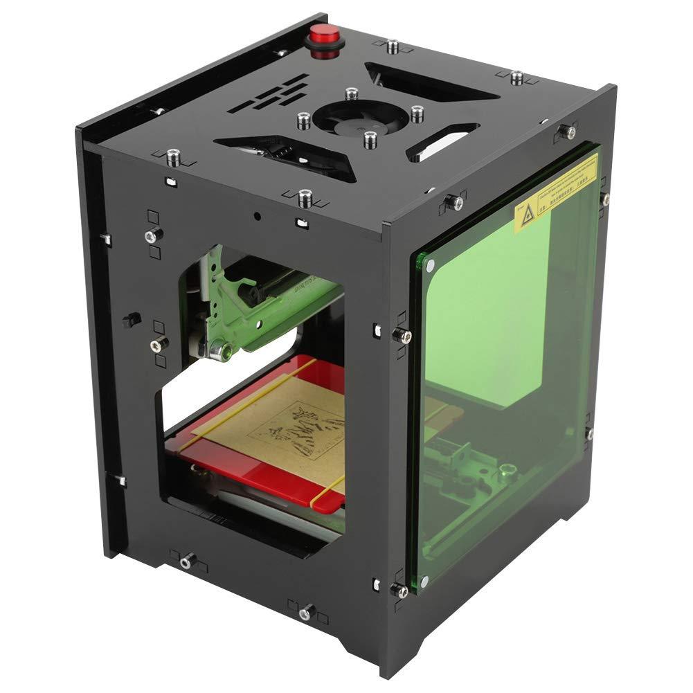 Lasergravurmaschine Gravurwerkzeug fü r Bildgravur, Tiefengravur, Leder-Holz-Kunststoff-Gravur (1500mW 550 * 550 Pixel) Hilitand