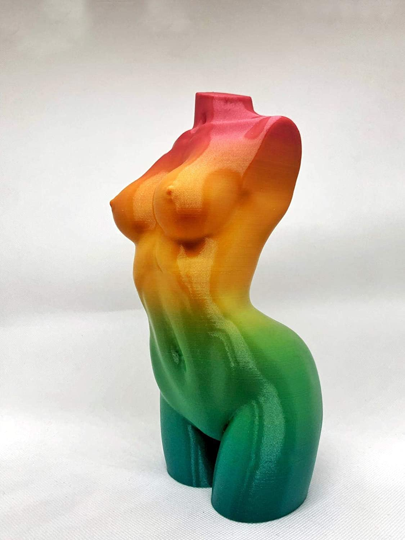Body resin sculpture