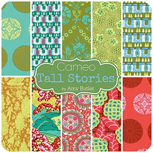 Cameo Tall Stories Fat Quarter Bundle (AB.CA.TA.10FQ.B) by Amy Butler for Westminster Fabrics