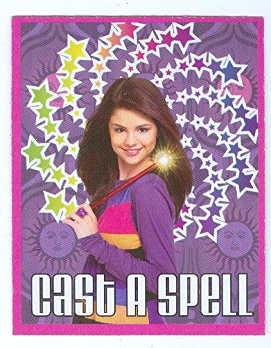 Selena Gomez trading card game card Wizards of Waverly Place (Cast A Spell) 2x2